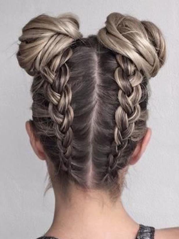 Stylish 20 cool braided hairstyles for girls daily hairstyles Cute Braiding Hair Styles Inspirations