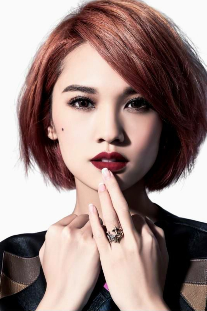 Stylish 20 short haircuts for asian women reviewtiful Short Hair For Round Face Asian Choices