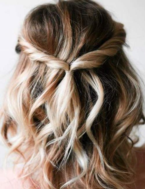 Stylish 20 stunning diy prom hairstyles for short hair Easy Hairstyles For Prom Short Hair Choices