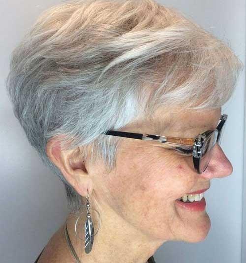 Stylish 2019 short haircuts for older women Short Haircuts Older Women Ideas