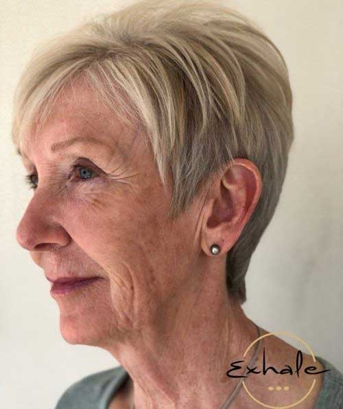 Stylish 2019 short haircuts for older women Short Ladies Haircuts Older Ladies Choices