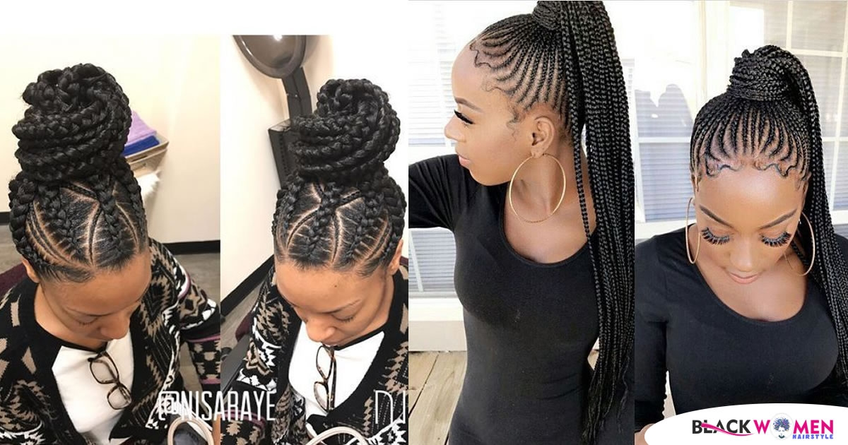 Stylish 2020 best black braided hairstyles for girls African Braids Hairstyle For Girls I Inspirations