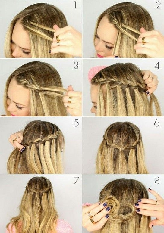 Stylish 24 easy step step haar tutorials in 2020 braided Simple Braided Hairstyles For Short Hair Step By Step Ideas