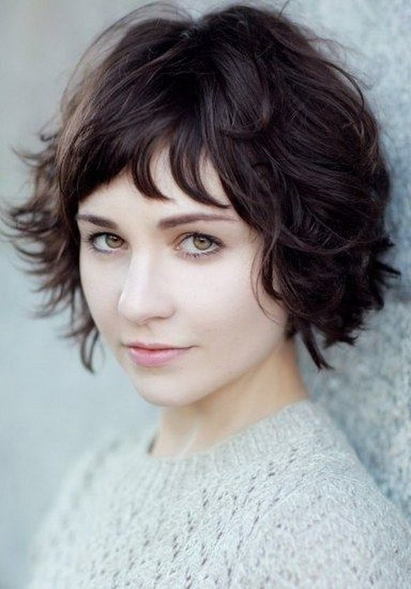Stylish 25 beautiful short haircuts for round faces 2017 Short Haircuts For Round Faces Pics Inspirations