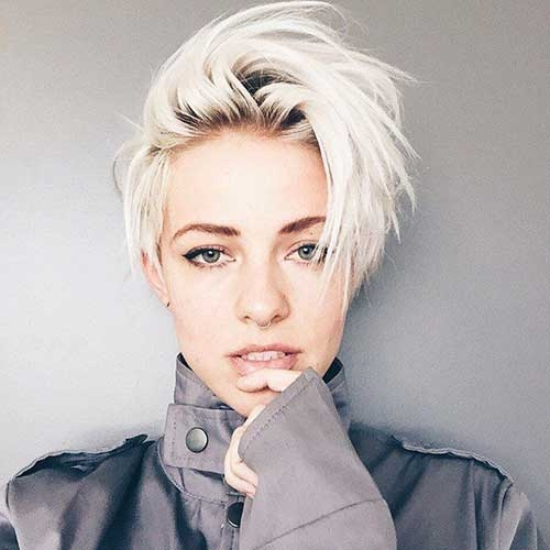 Stylish 25 chic short hairstyles for thick hair in 2020 the trend Really Short Haircuts For Thick Hair Inspirations