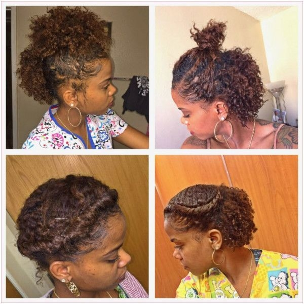 Stylish 26 transitioning hairstyles for short hair hair Quick Styles For Short Transitioning Hair Inspirations
