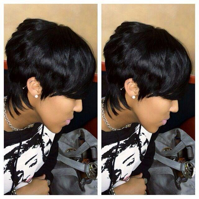 Stylish 27 piece quick weave quick weave hairstyles short quick African American Short Quick Weave Hairstyles