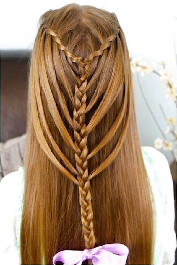Stylish 28 waterfall mermaid braid hairstyles for girls click on Hairstyles For Short Hair For School Dailymotion Ideas