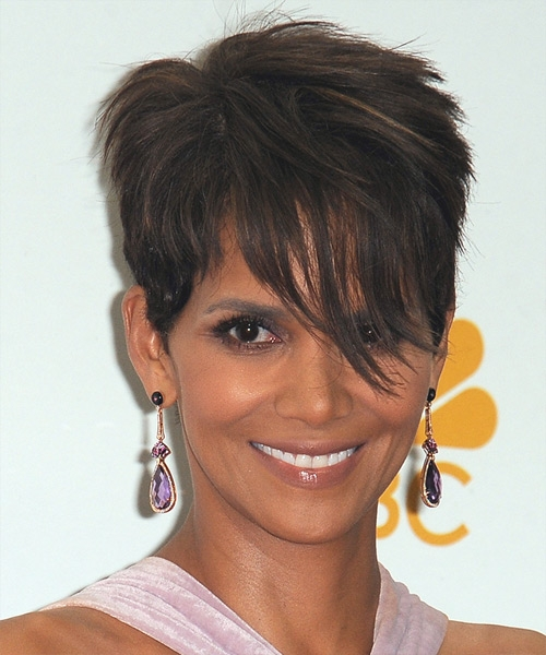Stylish 29 halle berry hairstyles hair cuts and colors Halle Berry Short Haircut Choices