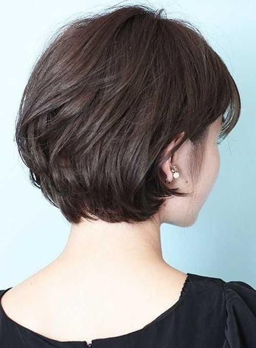 Stylish 30 back view of short layered haircuts short haircut Pictures Of Short Haircuts Front And Back Inspirations