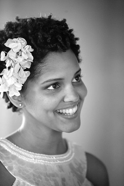 Stylish 30 beautiful wedding hairstyles for african american brides Short Natural Hair Wedding Styles Ideas