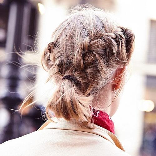 Stylish 30 best french braid short hair ideas 2019 short haircut Hairstyles For Short Straight Hair Braids Ideas