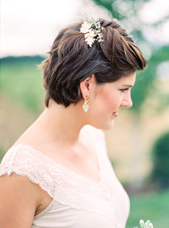 Stylish 30 bridesmaid hairstyles your friends will love a Short Hairstyles For Bridal Party Ideas