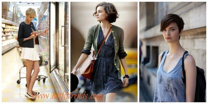 Stylish 30 cute outfits that go with short hair dressing style ideas Good Styles For Short Hair Ideas