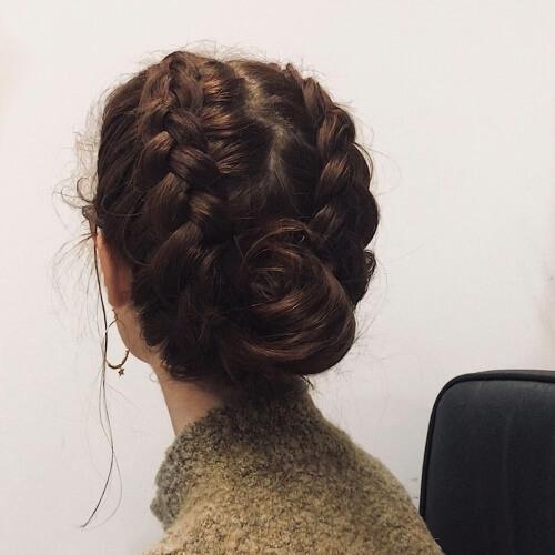 Stylish 30 prettiest dutch braid hairstyles how to hair motive Dutch Braid Updo Long Hair Inspirations