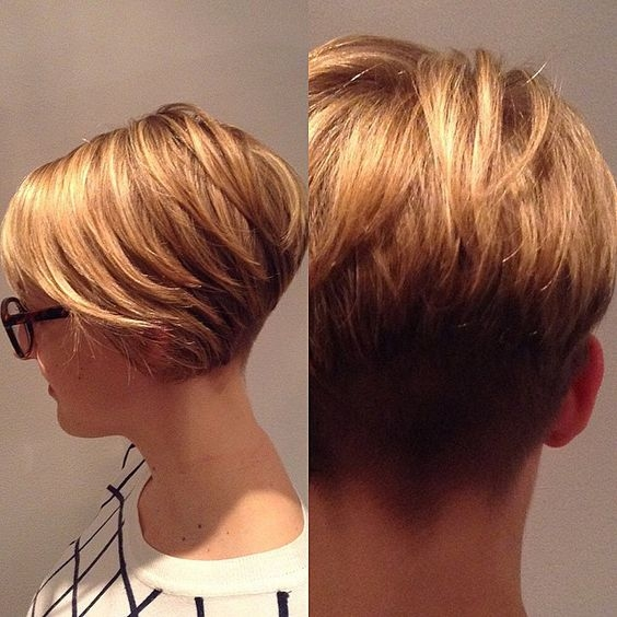 Stylish 30 trendy stacked hairstyles for short hair practicality Short Stack Haircuts Ideas