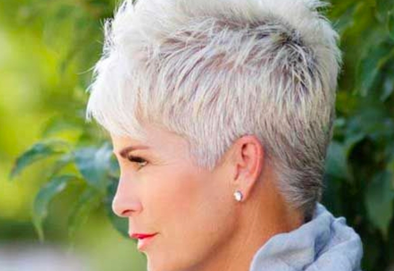 Stylish 34 flattering short haircuts for older women in 2020 Short Haircuts For Seniors Ideas