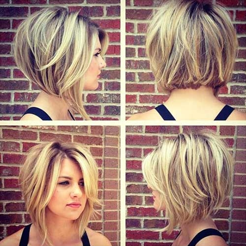 Stylish 35 best layered short haircuts for round face 2018 Best Short Hairstyle For Round Face Female Inspirations
