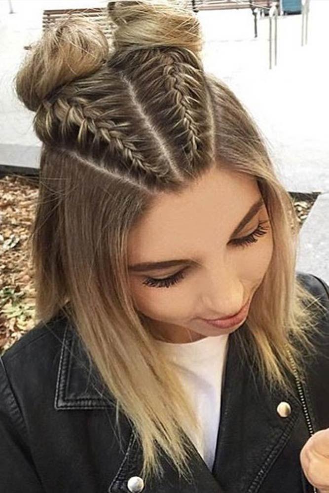 Stylish 35 cute braided hairstyles for short hair lovehairstyles Cute Braid Hair Styles Inspirations