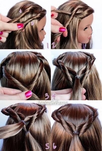 Stylish 40 cute beautiful american girl doll hairstyles 2020 guide Hairstyles For American Girl Dolls Easy Ideas