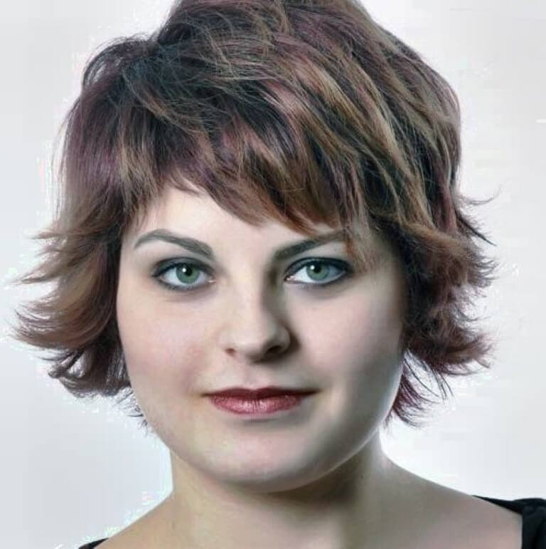 Stylish 45 best hairstyles for overweight women over 50 Short Haircuts For Fat Women Choices