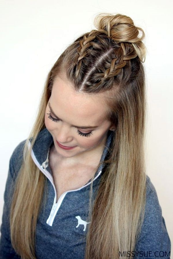 Stylish 45 quick and easy back to school hairstyles for 2016 in 2020 Easy School Hairstyles For Short Thick Hair Choices