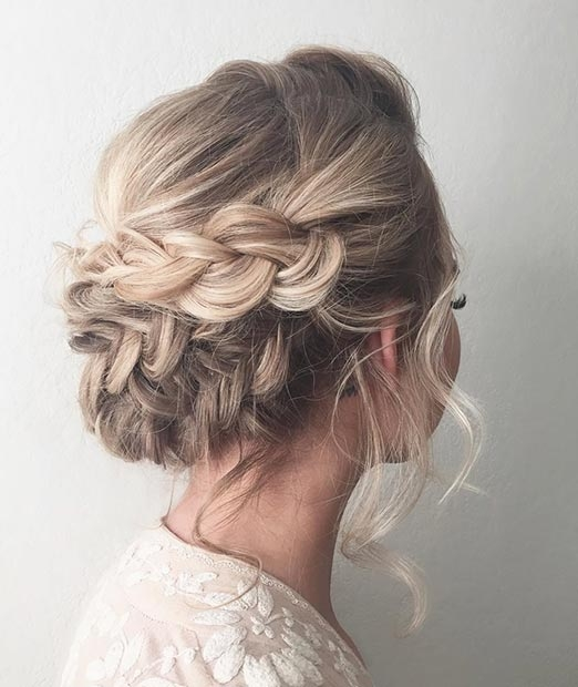 Stylish 47 gorgeous prom hairstyles for long hair stayglam Prom Hairstyles For Long Hair Updos With Braids Choices