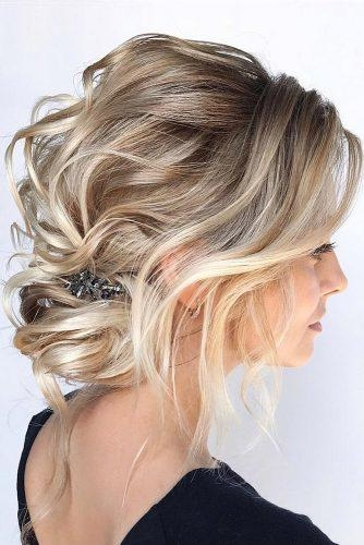 Stylish 48 perfect bridesmaid hairstyles ideas wedding forward Pictures Hairstyles For Bridesmaids With Short Hair Inspirations