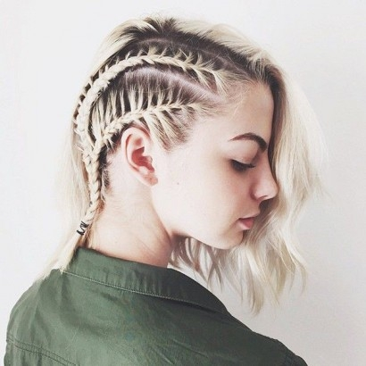 Stylish 5 easy braid hairstyles to try on short hair Easy Braided Hairstyle For Short Hair Choices