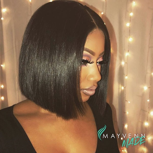 Stylish 50 best bob hairstyles for black women pictures in 2019 Short Bob Hairstyles African American Designs