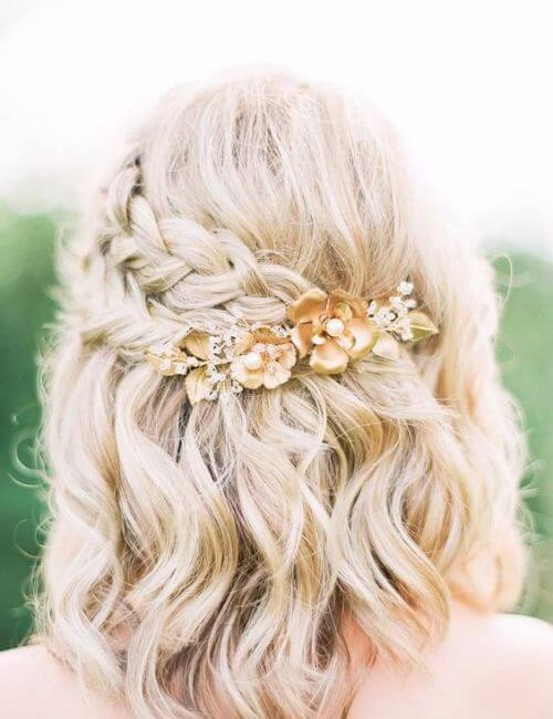 Stylish 50 bridesmaid hairstyles for every wedding my new hairstyles Cute Short Hairstyles For Bridesmaids Choices