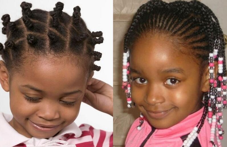 Stylish 50 most inspiring hairstyles ideas for little black girls Little Black Girls Hair Braiding Styles Ideas