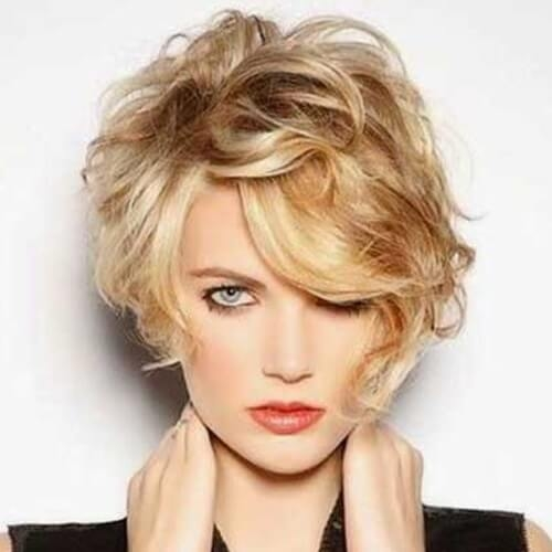 Stylish 50 perfect short haircuts for round faces hair motive hair Short Hairstyles With Bangs And Layers For Round Faces Ideas