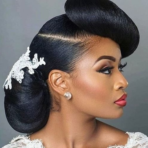 Stylish 50 short wedding hairstyles for black women 2020 short Short Black Hairstyles For Weddings Ideas
