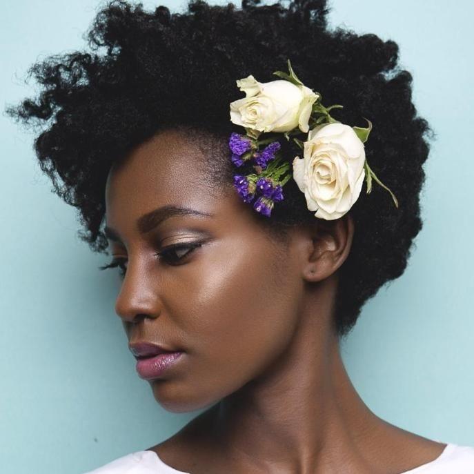 Stylish 50 superb black wedding hairstyles black wedding Short Natural Hair Wedding Styles Inspirations