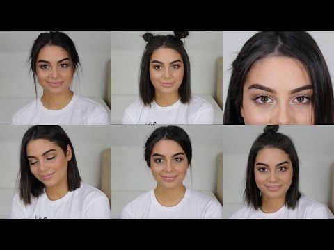 Stylish 6 heatless back to school hairstyles for short hair Back To School Hairstyles For Medium Short Hair Choices