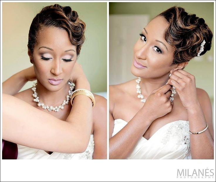 Stylish 60 black wedding hairstyles ideas in 2020 black wedding Wedding Updos For Short African American Hair Ideas