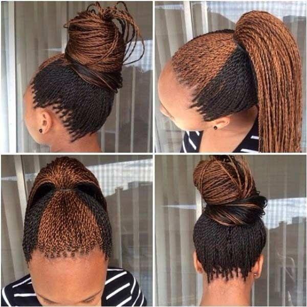 Stylish 61 beautiful micro braids hairstyles stayglam micro Wedding Hairstyles For Micro Braids Ideas