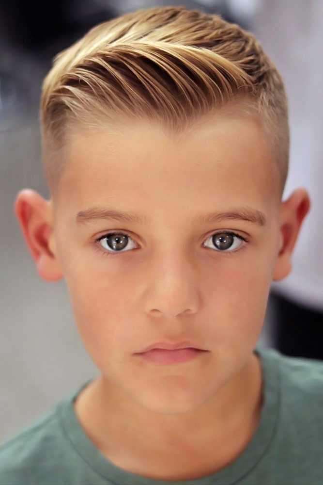 Stylish 65 trendy boy haircuts for your little man lovehairstyles Short Haircut For Boy Ideas