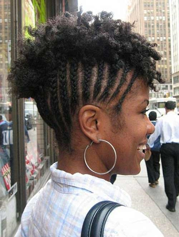 Stylish 66 of the best looking black braided hairstyles for 2020 Braid Updo For Short Black Hair Ideas