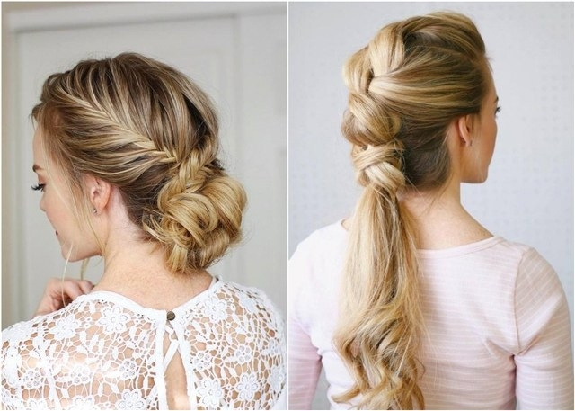 Stylish 75 trendy long wedding prom hairstyles to try in 2018 Wedding Prom Hairstyle For Long Hair. Braided Updo Ideas