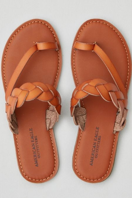 Stylish ae braided toe ring sandal braided sandals exclusive Brown Braided Sandals American Eagle Ideas