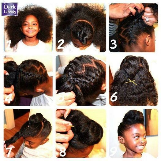 Stylish african american kids hair care guide hair types styling Natural Hair Care Styles African American