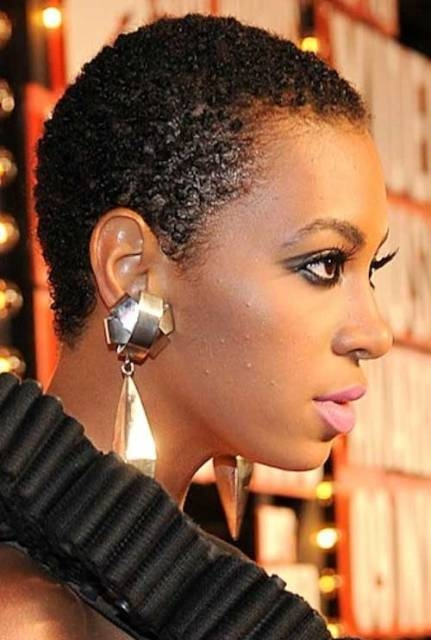 Stylish african american natural short hairstyles circletrest African American Texturizer Hairstyles Designs