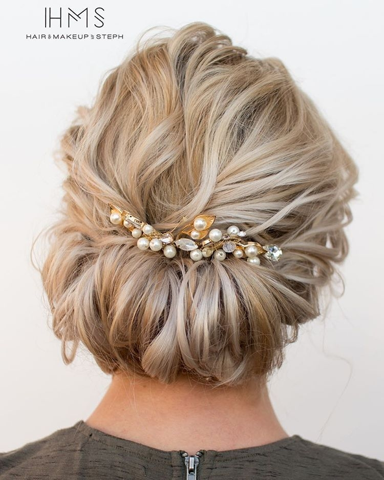 Stylish all about this updo with a brooch prom hairstyles for Short Hair Updo Ideas Pinterest Choices