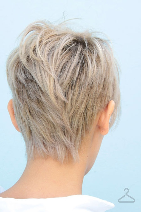 Stylish back view of short haircuts Pictures Of Short Haircuts Front And Back Choices