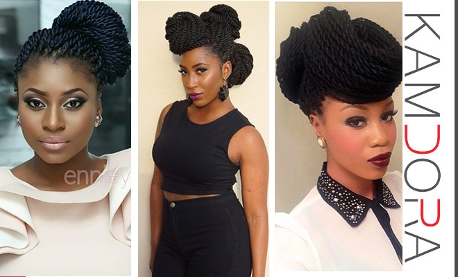 Stylish beauty hows styling m braids kamdora Styles For Packing Braided Hair Choices