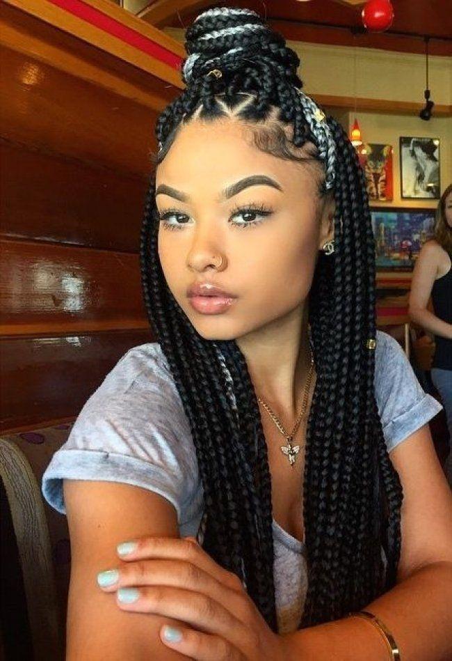 Stylish black braided hairstyles on pinterest african american African American Braids Hairstyles Pinterest Designs