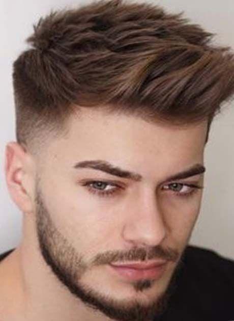 Stylish boys side faded hairs with medium length 2019 gents hair Hairstyles For Short Hair Boys Choices