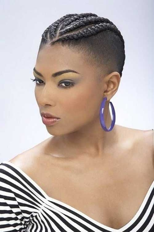 Stylish braids for black women with short hair Best Hairstyles For Short African Hair Inspirations